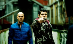 The fictional crime film and TV series Gomorrah, pictured, turned Le Vele into a common shorthand for Italy's social ills.