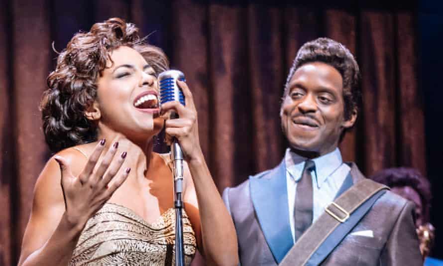 Kobna Holdbrook-Smith, right, in Tina – The Tina Turner Musical