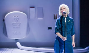 Little voice … Jane Horrocks in If You Kiss Me, Kiss Me at the Young Vic, London.