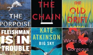 a few of the novels eligible for this year's Not the Booker (and Booker) prizes.