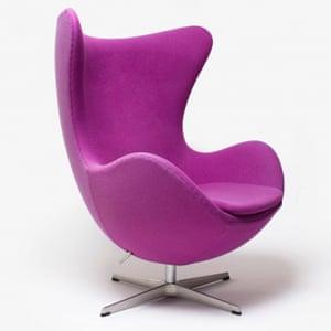 Arne Jacobsen's Egg chair.