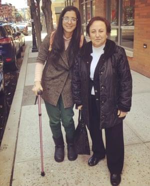 Shirin Ebadi: 'Outside of Iran I knew I'd be more useful. I could speak'