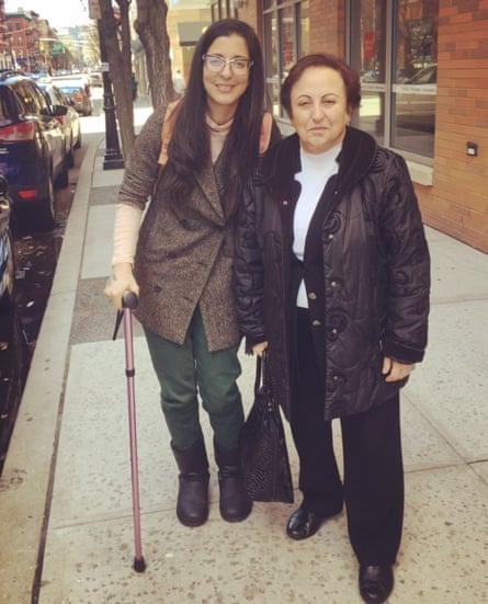 Porochista Khakpour and Shirin Ebadi