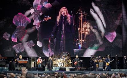 Fleetwood Mac. Live at Wembley Stadium, London. Photograph by David Levene 17/6/19