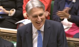 Philip Hammond may be laughing but this bankrupt budget is no laughing matter for public services or public sector staff.
