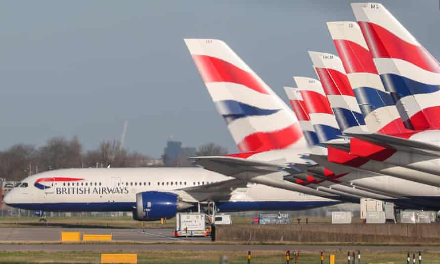 The British Airways chief executive, Alex Cruz, told staff coronavirus is 'a crisis of global proportions like no other we have known'.