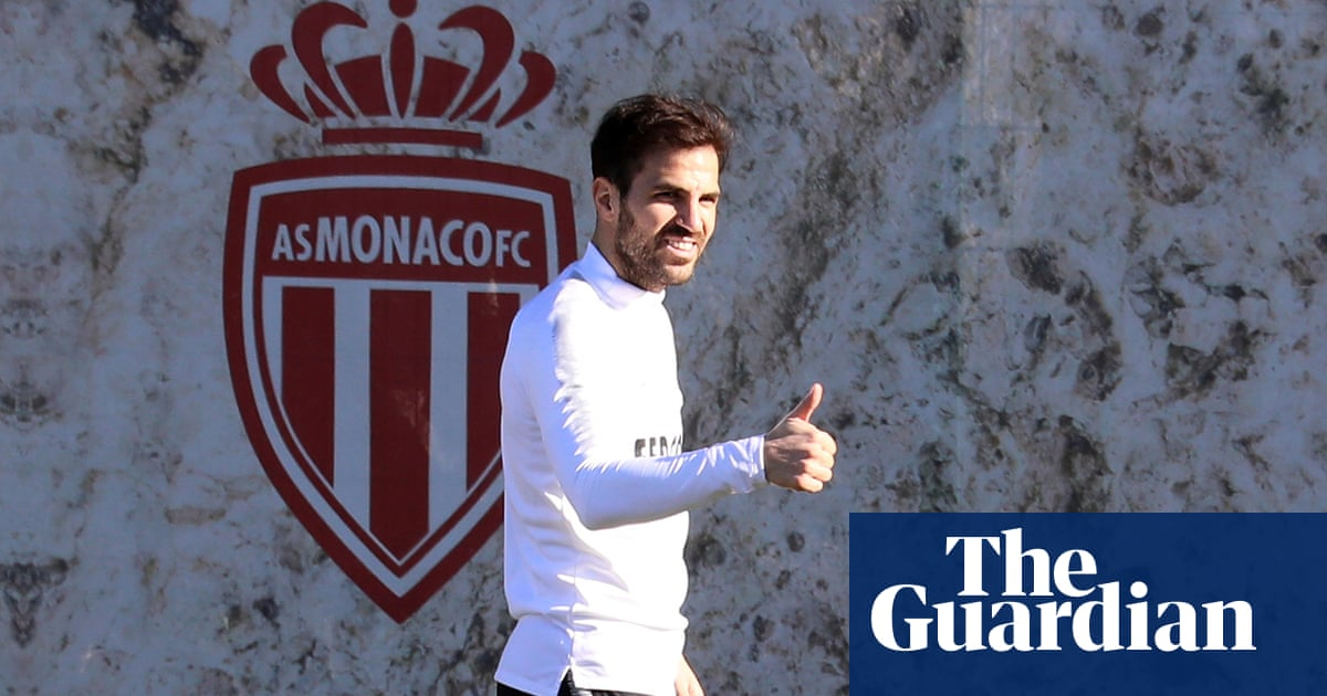 3538df1f3c02a Cesc Fàbregas says he feels young again after move to Monaco. This article  is more than ...