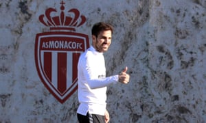 Cesc Fàbregas is getting used to life in Monaco, having made his debut in Sunday's 1-1 draw at Marseille.