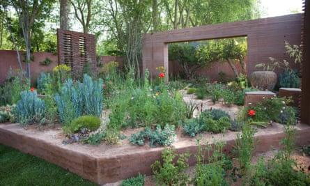 Sarah Price's garden.