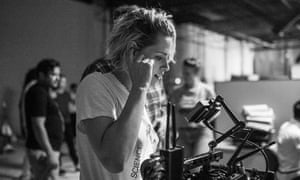 'It needs to be its own animal' … Kristen Stewart on the set of Come Swim.