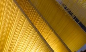 Pasta factory in La Rustichella d'Abruzzo