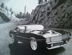 American Car by Keith Loker, an inmate on death row at San Quentin
