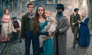 'My choices have tended to go quite dark': Collins as Fantine in Les Miserables with Dominic West and David Oyelowo.
