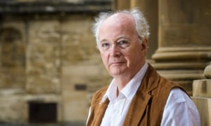 Philip Pullman at Oxford's Bodleian Library.