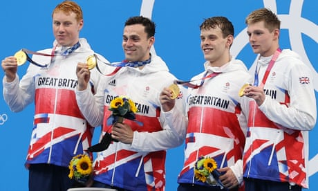 Team GB men strike Olympic gold in pool again with stunning relay win