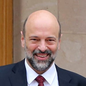 The Jordanian PM, Omar Razzaz.