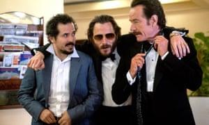 John Leguizamo, Ruben Ochandiano and Bryan Cranston in The Infiltrator.