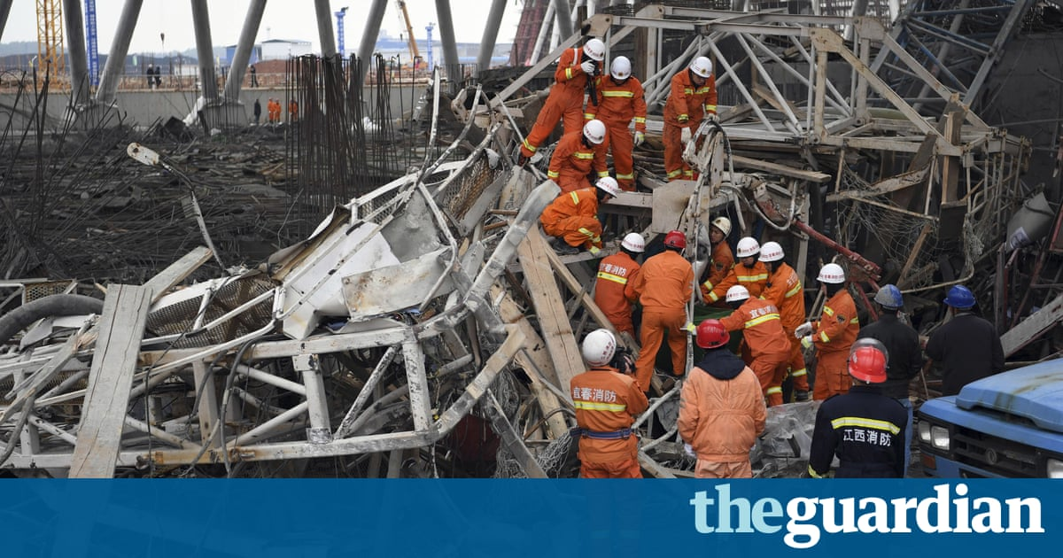 9199ada782 roundnews.com At least 40 workers dead in China power plant collapse