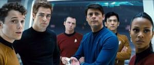 Yelchin in Star Trek