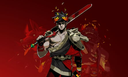 Wonderfully drawn characters have casually revealing outfits and godlike profiles … Hades.