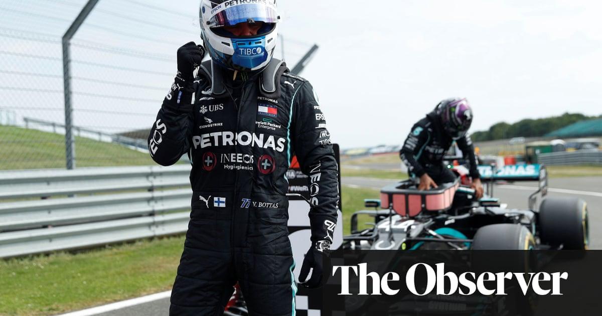 Valtteri Bottas pips Lewis Hamilton to pole for F1s 70th Anniversary GP