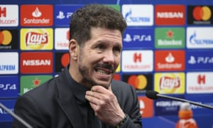 Diego Simeone's Atlético Madrid have reached the last 16 of the Champions League again and will face Juventus in the new year.