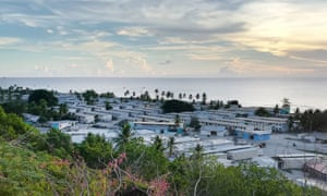Nauru settlements and hospital