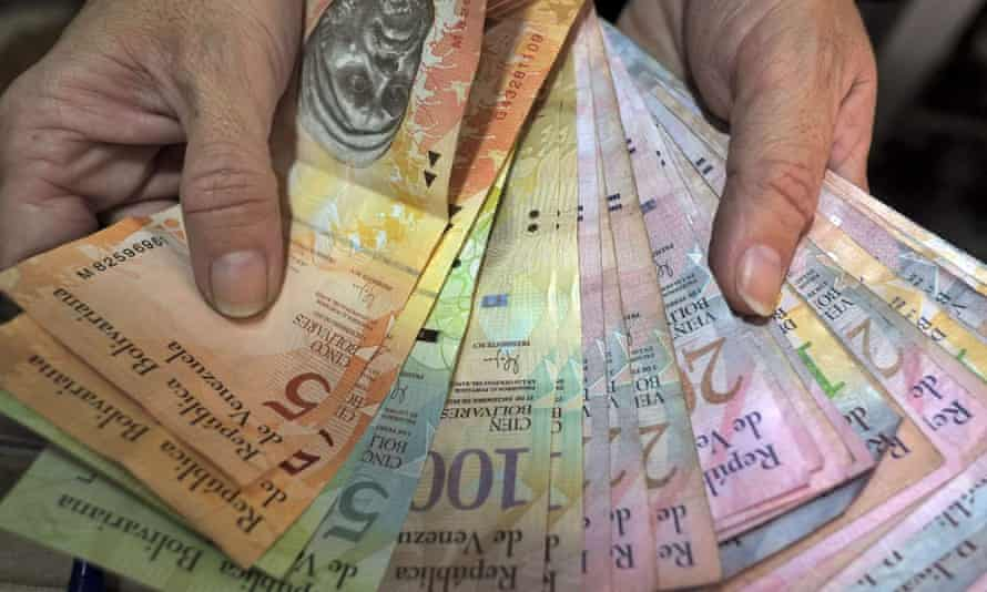 venezuela bolivar notes