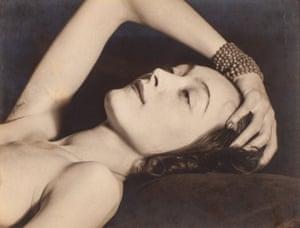 Nusch Éluard, 1928 by Man Ray, from the Tate Modern show The Radical Eye