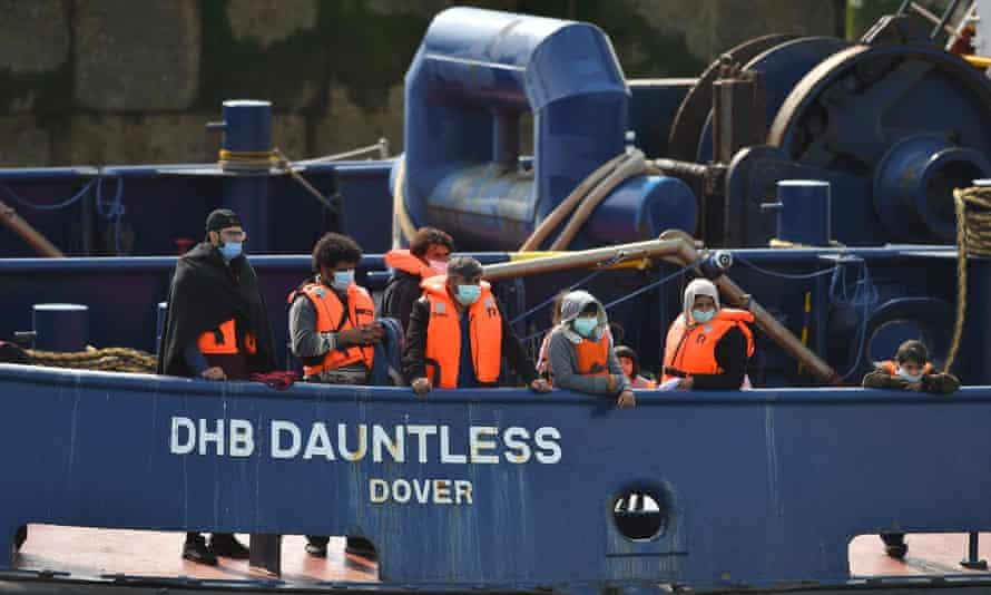 Migrants on DHB Dauntless
