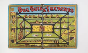 Dug Outs & Trenches board game