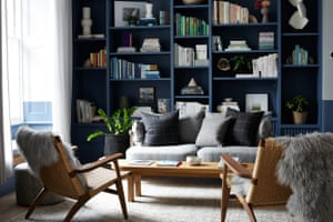 Library area at Inhabit hotel, Paddington, London, UK.