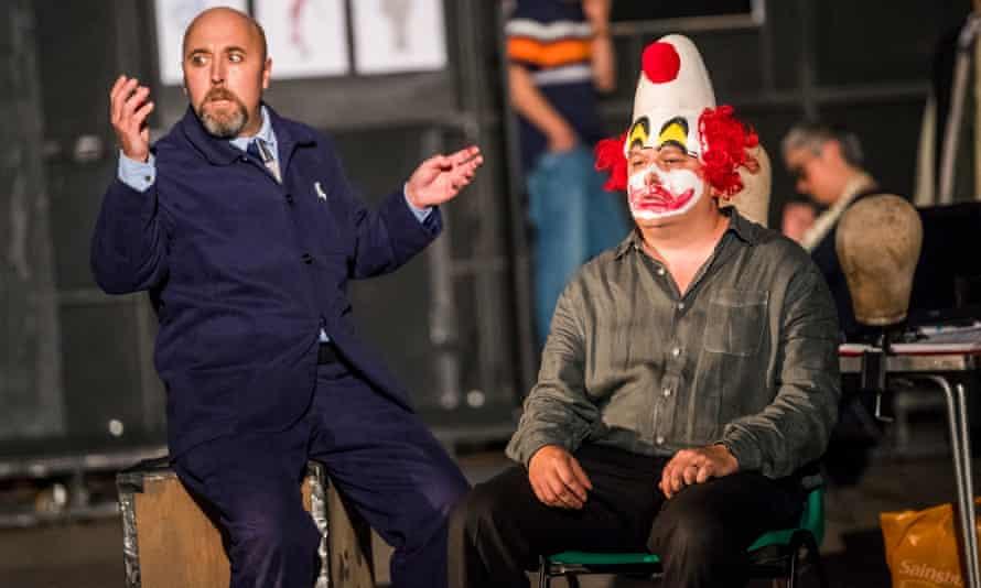 A scene from Pagliacci by Opera North