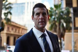 Ben Roberts-Smith llega al Tribunal Federal de Australia el 9 de junio de 2021 en Sydney, Australia.