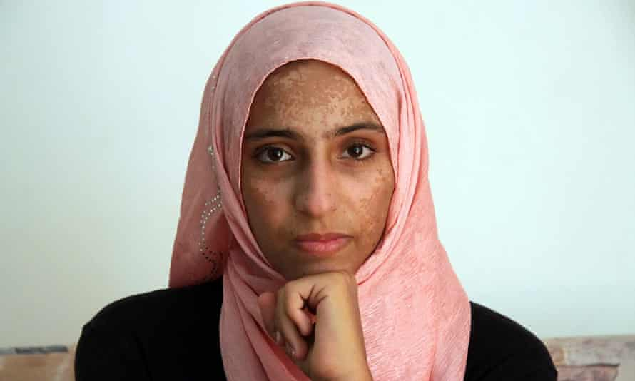 Syrian refugee Doaa al -amel, one of the few survivors of a deadly boat journey across the Mediterranean.
