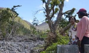 Patricia Scotland in Dominica.