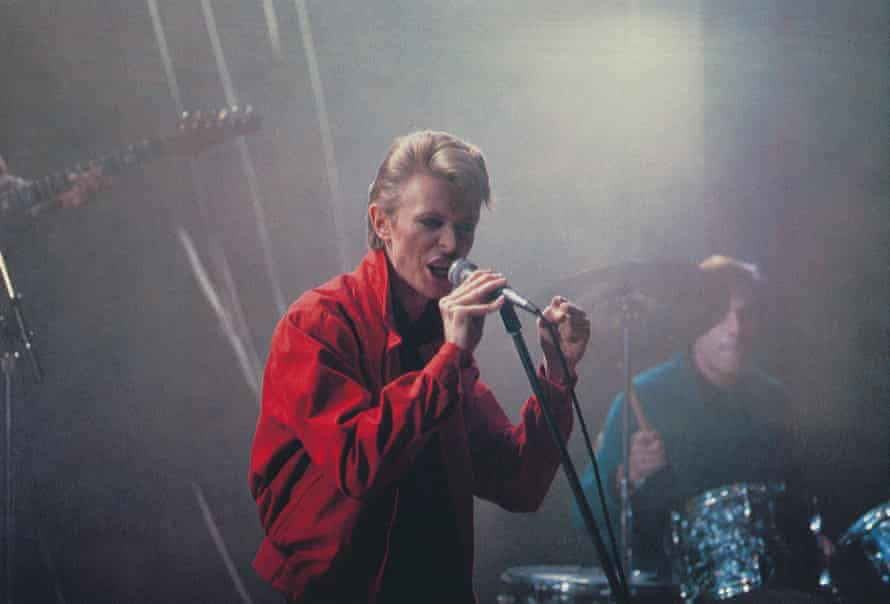 Heroes … David Bowie played himself and wrote the music in the film.