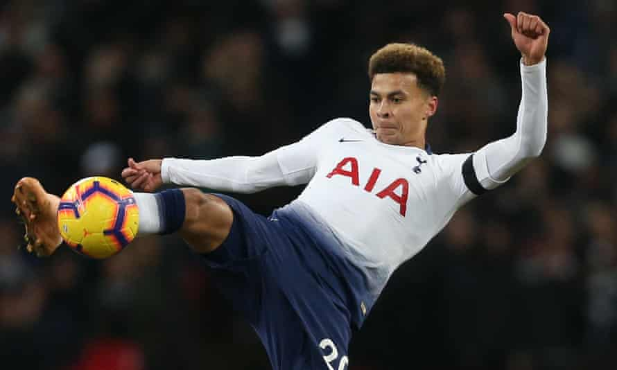 Dele Alli said of his Tottenham manager, Mauricio Pochettino: 'You don't want to get on his bad side.'