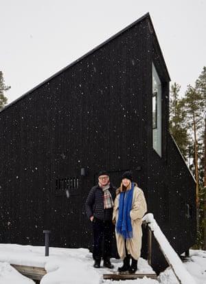 Owners Leena Karo and Seppo Toivonen.