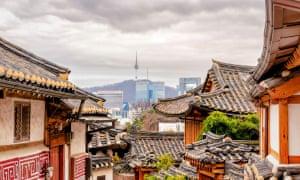 Seoul's skyline