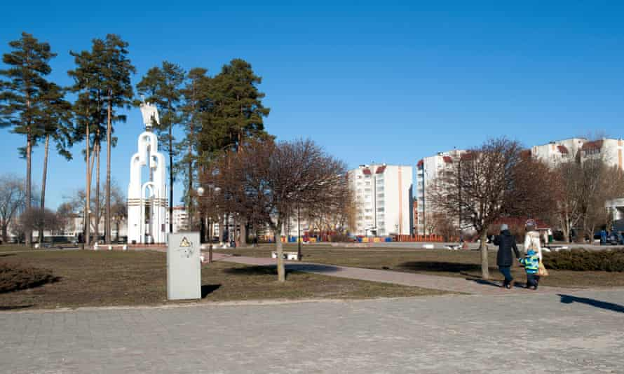 The area on which Slavutych was built was first covered in two metres of fresh, uncontaminated soil.