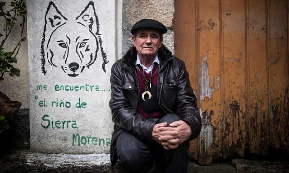 Marcos Rodríguez Pantoja in his home in Rante in Galicia in March.