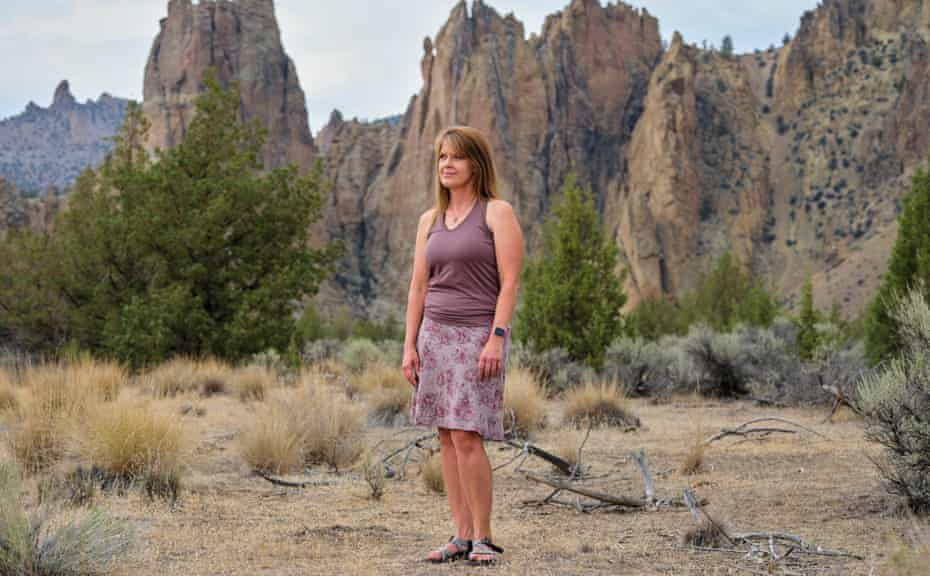 Kimberly Lightley, who survived the South Canyon fire and is now developing some of the Forest Service's behavioral health programs.