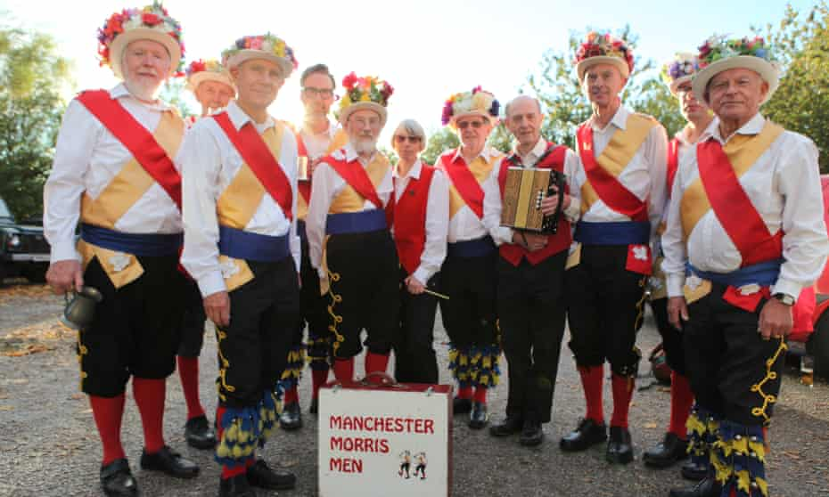the Manchester Morris men from the BBC documentary For Folk's Sake: Morris Dancing and Me, made by Richard Macer, fourth from left.