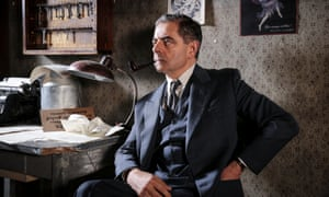 Rowan Atkinson plays the lead as French detective Maigret.