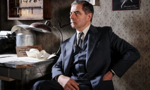 Rowan Atkinson stars as the detective in the ITV series Maigret
