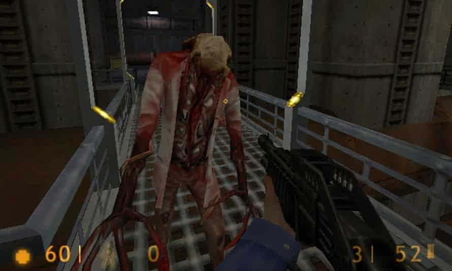Half-Life gameplay.