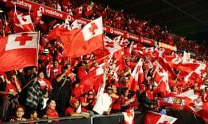 Tongan fans