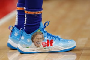 basketball shoes with the word elf on them