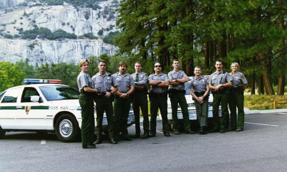 group of park rangers